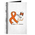 Leukemia Ribbon Dad Journal