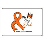 Leukemia Ribbon Dad Banner