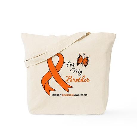 Leukemia Ribbon Brother Tote Bag