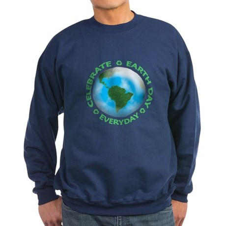 Celebrate Earth Day Sweatshirt (dark)