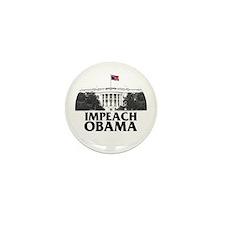 Impeach Obama Mini Button (100 pack)