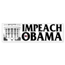 Impeach Obama Bumper Bumper Stickers