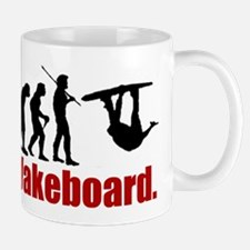 Cute Evolution of wakeboarding Mug