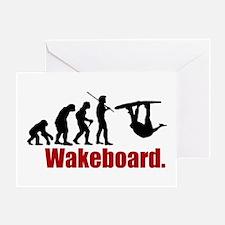 evolutionwake_center Greeting Cards