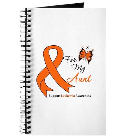 Leukemia Ribbon Aunt Journal