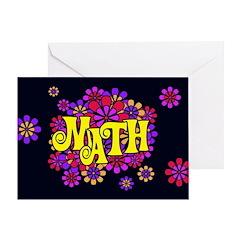 Mathadelic Lipstick Greeting Card