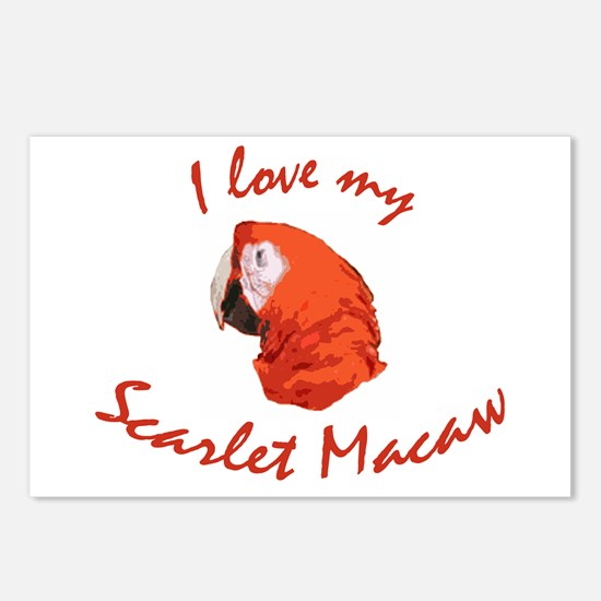 I Love My Scarlet  Postcards (Package of 8)