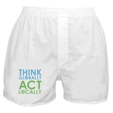 Environmentalist Boxer Shorts