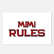 mimi rules Postcards (Package of 8)