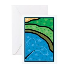 Cast A Line Greeting Card