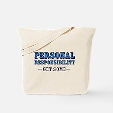 Personal Responsibility Tote Bag