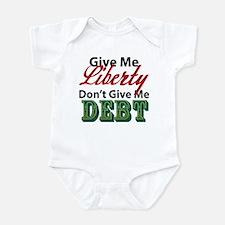 Liberty or Debt Infant Bodysuit