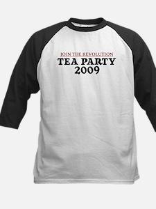 Tea Party 2009 Kids Baseball Jersey