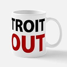 No Detroit Bailout Mug