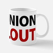 No Union Bailout Mug