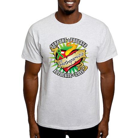 Gastroparesis Tattoo Heart Light T-Shirt