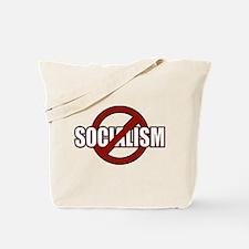 No Socialism Tote Bag