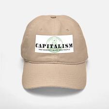 Capitalism Baseball Baseball Cap