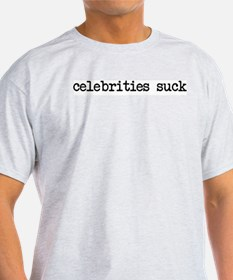 celebrities suck Ash Grey T-Shirt