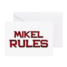 mikel rules Greeting Card