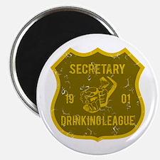 Secretary Drinking League Magnet