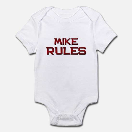 mike rules Infant Bodysuit
