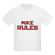 mike rules T-Shirt