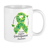 Gastroparesis Butterfly Ribbo Mug