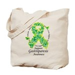 Gastroparesis Butterfly Ribbo Tote Bag