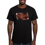 Progressive Tolerance Men's Fitted T-Shirt (dark)