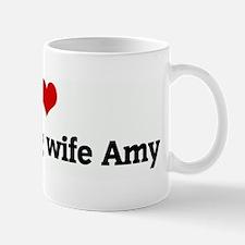 I Love my darling wife Amy Mug