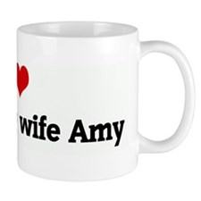 I Love my darling wife Amy Mug