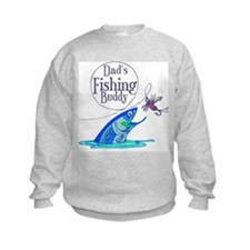Dad's Fishing Buddy Sweatshirt