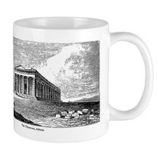 The Theseum, Athens Mug