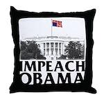 Impeach Obama Throw Pillow