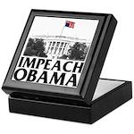Impeach Obama Keepsake Box