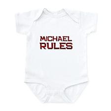 michael rules Infant Bodysuit