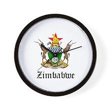 Zimbabwean Coat of Arms Seal Wall Clock
