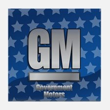Government Motors Tile Coaster