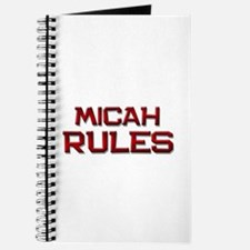 micah rules Journal