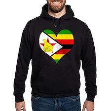 I Love Zimbabwe Hoodie