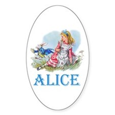 Alice in Wonderland Decal