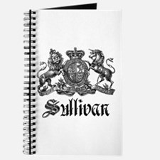 Sullivan Vintage Family Crest Journal
