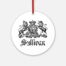 Sullivan Vintage Family Crest Ornament (Round)
