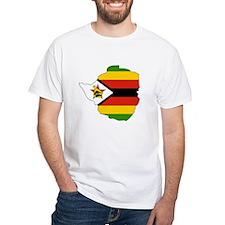 Zimbabwe Flag Map Shirt