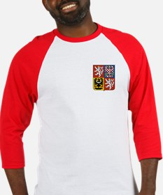Czech Coat of Arms Baseball Jersey