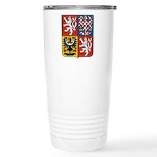 Czech Coat of Arms Travel Coffee Mug