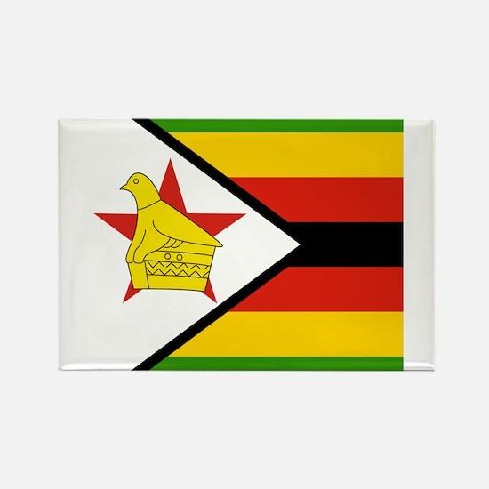 Zimbabwean Rectangle Magnet