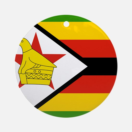 Zimbabwean Ornament (Round)