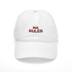 mia rules Baseball Cap